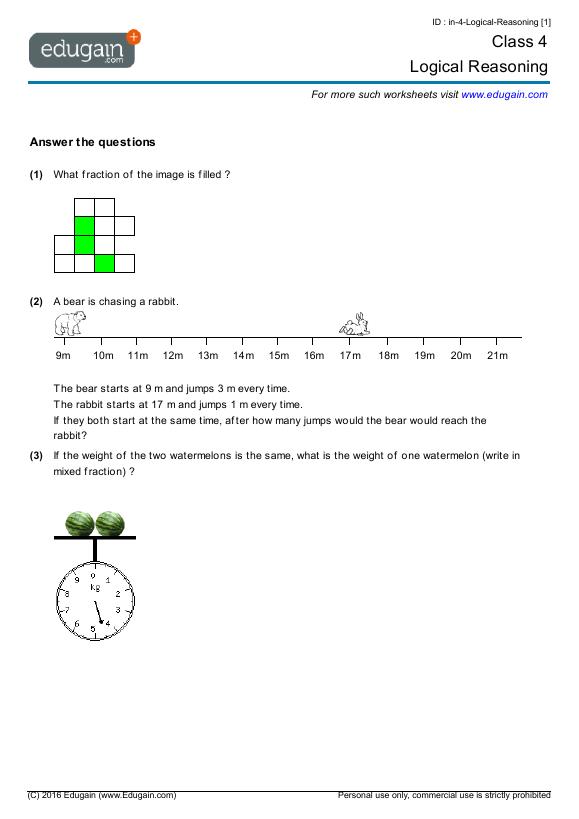 3rd Grade Math Reasoning Worksheets : Roman numeral worksheets for rd graders grade place