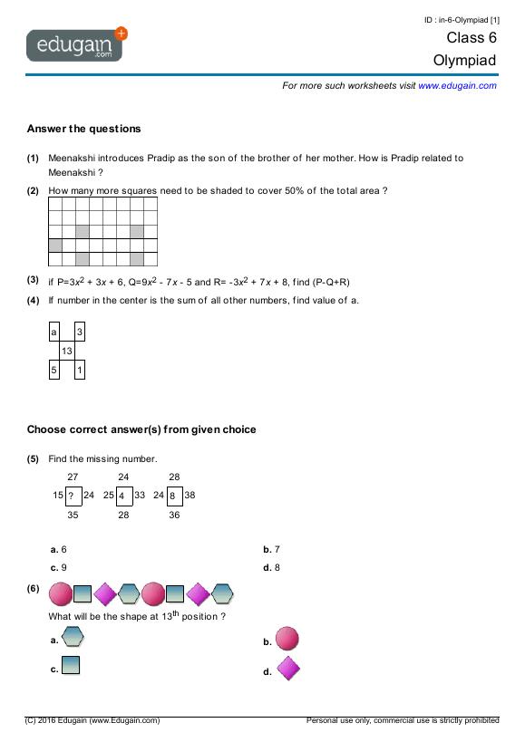 Grade 4 science worksheets canada