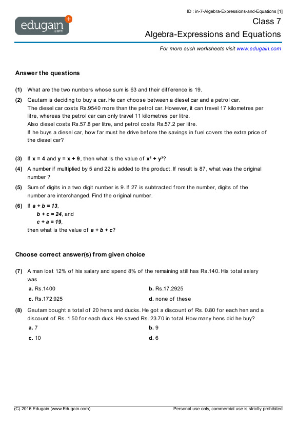 math worksheet : grade 9 math worksheets printable canada  worksheets : Grade 9 Math Worksheets